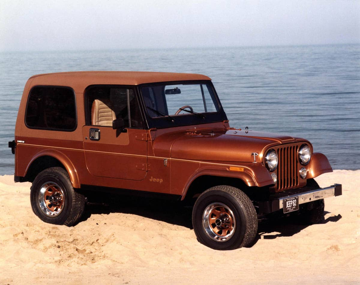 Jp CJ-7 Limited frnt rt